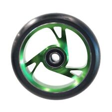 Scooter Wheel Alloy Core 125mm with Abec 9 Bearing GREEN