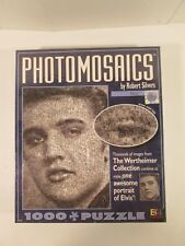 Elvis Presley Photomosaics by Robert Silvers Jigsaw Puzzle 1000 Piece NEW SEALED