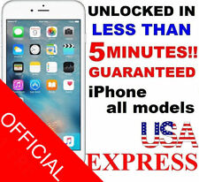 FACTORY UNLOCK SERVICE CODE FOR AT&T IPHONE 4s 5 5s 6 6+ 6s CLEAN IMEI ONLY