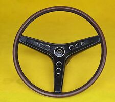 FORD FALCON XW XY GT GS STEERING WHEEL WITH CORRECT WOOD GRAIN FROM USA