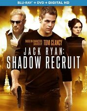 Jack Ryan: Shadow Recruit (Blu-ray Disc, No DVD, 2014, 1-Disc)