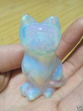 Lovely Sri Lanka Moonstone Hand Carved Cat