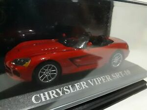 1/43 CHRYSLER VIPER SRT-10 ROJO