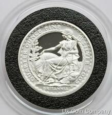 2005 Britannia 1/4oz Fine Silver Fifty Pence Proof Coin