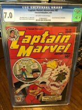 New ListingCaptain Marvel Adventures #87 Cgc 7.0 Fawcett 1948 Classic Cc Beck!