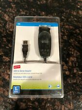 Staples 1ft USB to Serial Adapter Connector Cable NEW