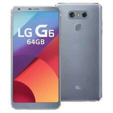 NEW LG G6 32GB GSM Unlocked T-mobile AT&T H872 Ice Silver 4G LTE OEM Genuine