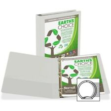 16967 2 Inch Samsill Biodegradable View Binder with D-Ring White