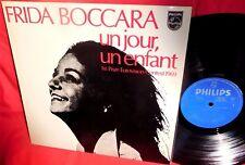 FRIDA BOCCARA Un jour un enfant LP 1969 AUSTRALIA MINT- EUROVISION