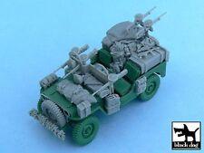 Black Dog 1/48 British SAS Jeep Accessories Europe 1944 (Tamiya 32552) T48054