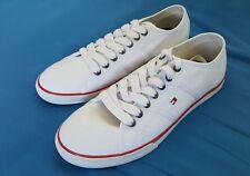 scarpe sneakers TOMMY HILFIGER, da uomo, di colore bianco, misura 43