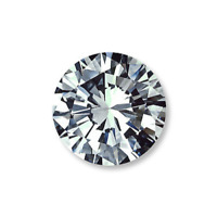 0.05 Ct Natural Earth Mined White Diamond Loose Round Cut G Color VS1 Clarity A+