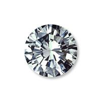 Rare 0.05 Ct Natural Diamond Loose VVS2 Clarity F Color Round Brilliant Cut A+