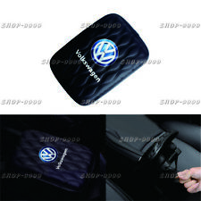 JDM VOLKSWAGEN Leather Car Center Console Armrest Cushion Mat Pad Cover