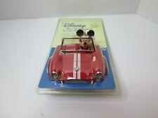 Disney Mickey Mouse Night Light Classic Sports Car Plug In - New