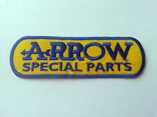 MOTOR RACING RALLY SPORT FUELS OILS SEW / IRON ON PATCH:- ARROW SPECIAL PARTS