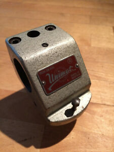 Unimat DB200 Headstock, cast iron, hammer-tone blue