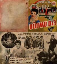 Programa de CINE. Título película: ULTIMO DIA.