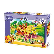 24 Piece Disney Jigsaw Puzzle Winnie The Pooh & Friends Gardening Fun 05244b