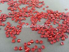 1000 Hotfix Studs, Nieten aus Metall, *Rot*, SS10 ~ 3mm, Super Qualität