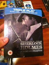 Sherlock Holmes A Game of Shadows Blu-ray Steelbook | HMV UK exclusive | NEW OOP