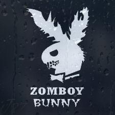Divertido Zombie Play Boy parodia zombboy Bunny coche decal pegatina de vinilo