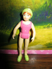 FISHER PRICE SWEET STREETS FIGURE REPLACEMENT HOTEL VACATION LADY  BATHING SUIT