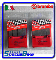 HONDA CBR 1000 RR 2008 > BREMBO SA SINTERED BRAKE PADS 2 SETS