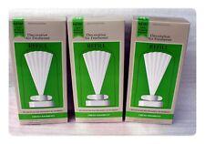 Lot of 3 Boxes Bath Body Works Decorative Air Freshener Fresh Bamboo Refill Fan