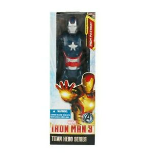 Figurine iron man  patriot Articulé Avengers Titan Heroes Series 30 Cm jouet