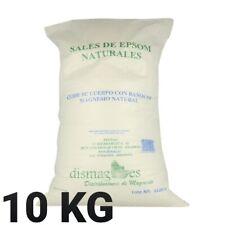 Sel d'Epsom 10Kg Source concentrée de Magnésium Sel100% Naturel livraison gratui