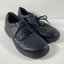 GBX Mens Sz 11 M Black Leather Capital Dress Work Shoes Derby Lace up