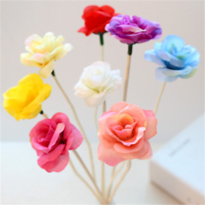 5PCS Rose Cloth Rattan Sticks Fragrance Diffuser Replacement Refill DIY Decor