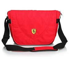 Ferrari Travelers Messenger Bag - Red