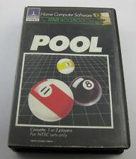 Pool ATARI 400/800 XL XE Computer Spiel Cassette NTSC OVP defekt ungeprüft #583