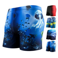 Men Boxer Briefs Swimming Swim Shorts Trunks Swimwear Swim Beach Pants Underwear