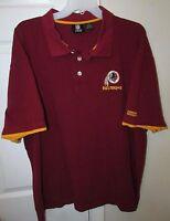 NFL Washington Redskins Golf Shirt Size 2XL by NFL Team Apparel