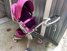 Stokke Xplory Purple Standard Single Seat Stroller excellent condition