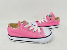 NEW! Converse Toddler Girls All Star Lace Up Low Top Shoes Pink #7J238 196iJ tk