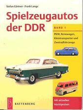 """GSPKW GSDDR  """"SPIELZEUGAUTOS DER DDR BAND 1"""" , NEU/NEW IN FOLIE,  PREISFÜHRER !"""