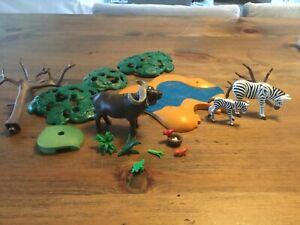 Playmobil 4828 Buffalo and Zebras