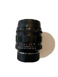 voigtlander Nokton 35mm 1.2 (excellent condition)