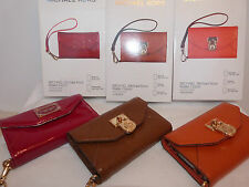 Michael Kors Glossy Mobile Phone Wallet Cases