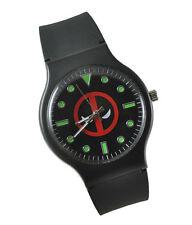 Fashion Marvel Deadpool Quartz wrist Watch For Boy Lady Girl Woman Men HBX04