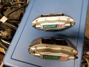 "2004 2005 2006 2007 2008 JAGUAR XJR S-TYPE R REAR BRAKE CALIPERS ""BREMBO"""