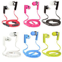 3.5mm In-Ear Earbuds With MIC & Volume Control Headphone For iPhone iPod  MP3