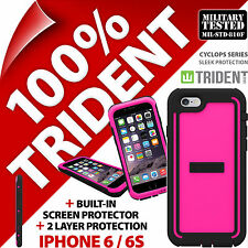 New Trident Cyclops Pink Protective Case Rugged Armour for Apple iPhone 6 / 6S