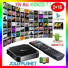X96 Mini Android 7.1 Nougat S905W 2GB 16GB KODI TV BOX 4K IPTV Decoder Smart TV