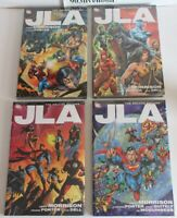 DC COMICS JLA DELUXE EDITION VOL 1 2 3 4 HC HARDCOVER SET BY GRANT MORRISON NEW