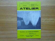 Atelier Art Gallery Oostende, 1976 nr 16 : Devolder, Slabbinck, Van Hecke, Milo